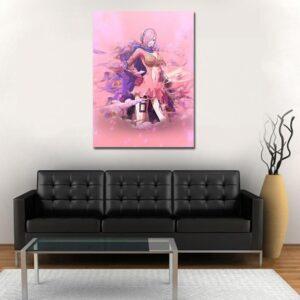 One Piece Vinsmoke Reiju Poison Pink Portrait 1pc Wall Art