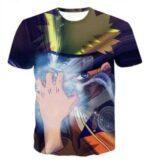 Powerful Rasengan Skill Naruto Leaf Village Symbol Fashionable T-shirt
