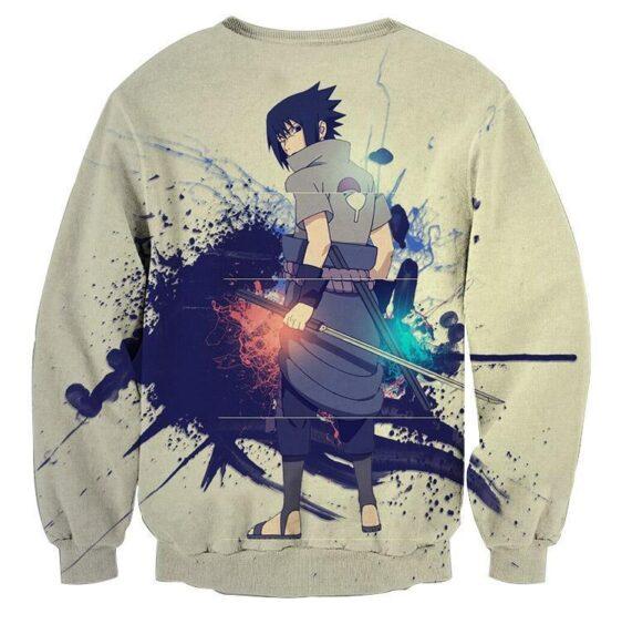 Sasuke Uchiha Art Work Design Japan Anime Dope Sweatshirt