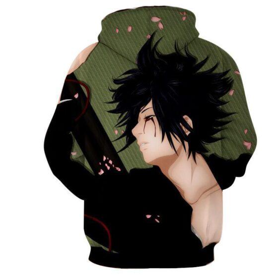 Sasuke Uchiha Romantic Art Work Design Streetwear Hoodie