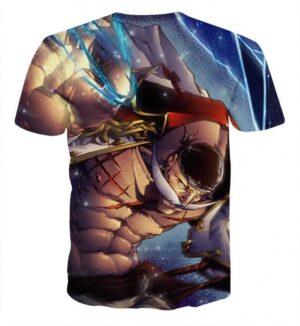 WhiteBeard Edward Newgate Fighting Super Cool T-shirt