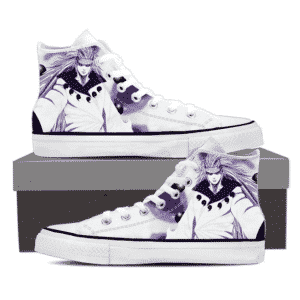 Madara Sage Of Six Path Mode Villain Violet Sneakers Shoes