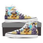 Naruto Sasuke Sakura Teenage Team 7 Powerful Ninjas 3D Shoes