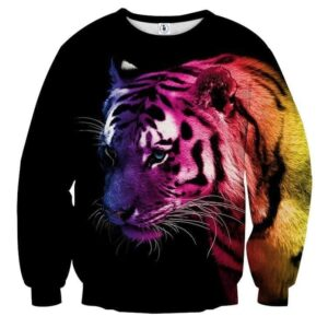 Amazing Ready To Attack Fierce Tiger Stylish Sweatshirt