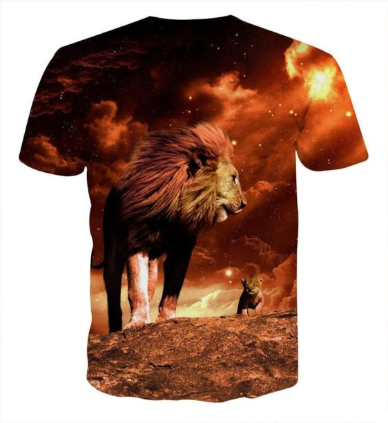 Lion King Real Life Simba Mustafa Son Father Cool T-Shirt