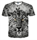 Fierce Face Of Tiger With Beautiful Spots Dope Style T-Shirt