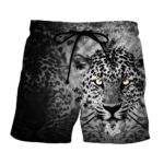 Fierce Face Of Tiger With Beautiful Spots Dope Boardshorts