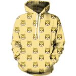 Adorable Cute Little Yellow Baby Tigers Tiny Cool Style Hoodie - Superheroes Gears