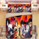 Amazing Naruto Shippuden Final Arc Vivid Design Bedding Set