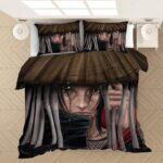 Awesome Itachi Uchiha Red Eyes Akatsuki Hat Art Bedding Set