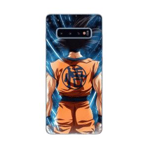 Back Goku Kanji Symbol Samsung Galaxy S10 Case
