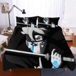 Boruto's Momoshiki Otsutsuki Curse Mark Black Bedding Set