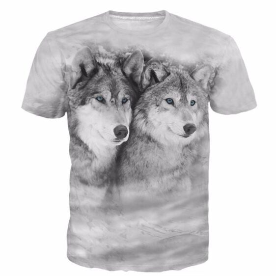Cool Trendy Fashion Timeless Classic Insightful Wolves T-shirt - Superheroes Gears