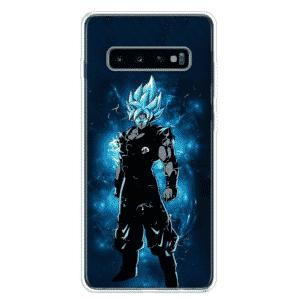 DBZ Blue Goku Samsung Galaxy S10 (S10 Plus & S10E) Case