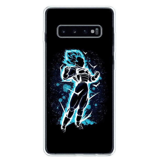 DBZ Blue Vegeta Samsung Galaxy S10 (S10 Plus & S10E) Case
