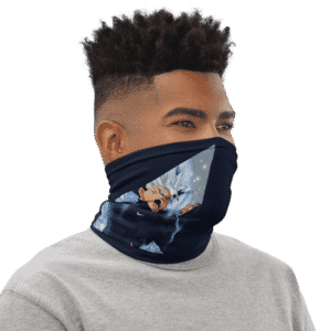 DBZ Byo Nike Inspired Navy Blue Face Covering Neck Gaiter