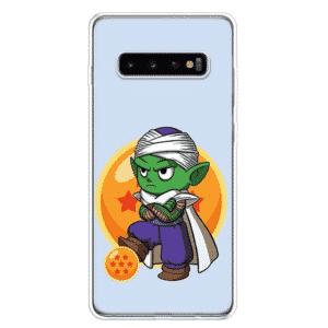 DBZ Cute Piccolo Bored Look Samsung Galaxy S10 Case