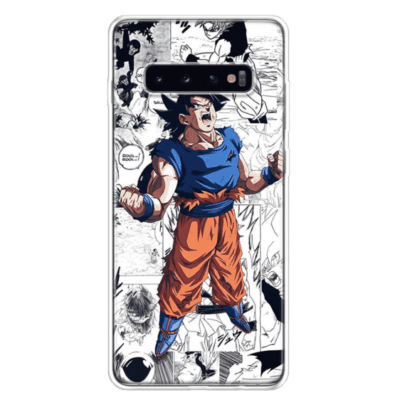 DBZ Furious Goku Samsung Galaxy S10 Case