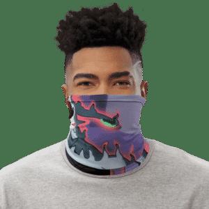 DBZ Gigantic Humanoid Agnilasa Face Covering Neck Gaiter