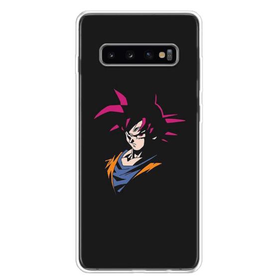 DBZ God Goku Samsung Galaxy S10 (S10 Plus & S10E) Case