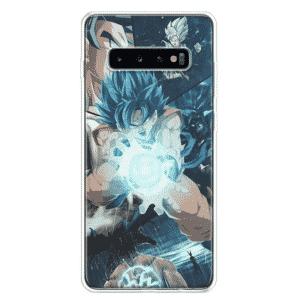 DBZ Goku Super Saiyan Blue Samsung Galaxy S10 Case
