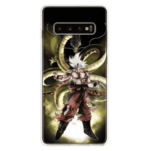 DBZ Goku Ultra Instinct & Shenron Samsung Galaxy S10 Case