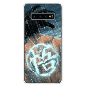 DBZ Goku's Back Glowing Kanji Symbol Samsung Galaxy S10 Case
