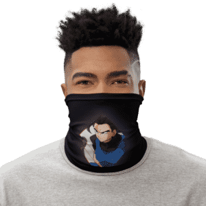 DBZ Shallot Awesome Art Black Face Covering Neck Gaiter