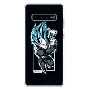 DBZ Vegeta Blue Samsung Galaxy S10 (S10 Plus & S10E) Case
