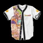 Dragon Ball Z All Star Characters Art Baseball Jersey