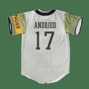 Dragon Ball Z Andriod 17 MIR Uniform Baseball Jersey