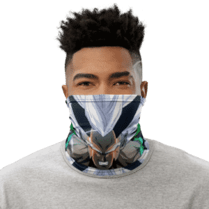 Dragon Ball Z Angry Zaiko Face Covering Neck Gaiter