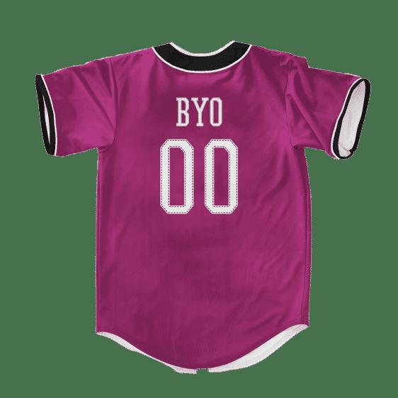 Dragon Ball Z Awesome Byo Power Up Art Baseball Jersey