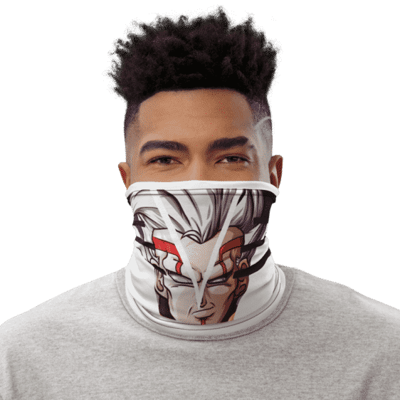 Dragon Ball Z Baby Vegeta White Face Covering Neck Gaiter