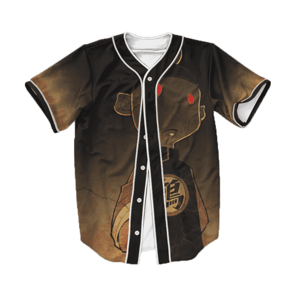 Dragon Ball Z Bad Ass Evil Chiaotzu Baseball Jersey