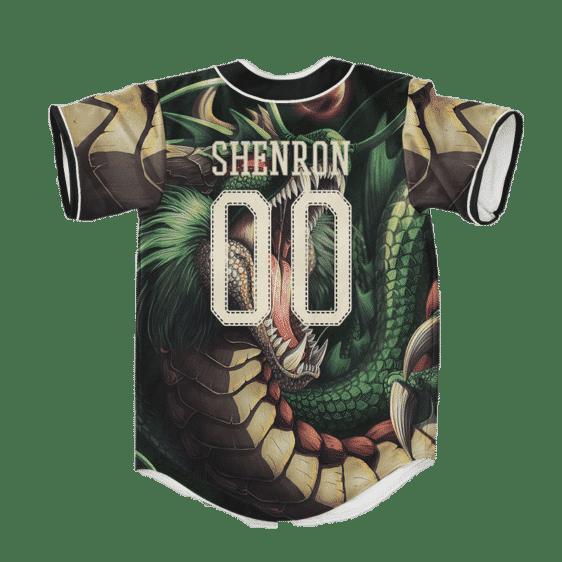 Dragon Ball Z Badass Shenron Cool Art Baseball Jersey