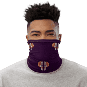 Dragon Ball Z Belmod Space Purple Face Covering Neck Gaiter