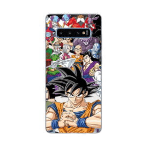 Dragon Ball Z Characters Samsung Galaxy S10 Case