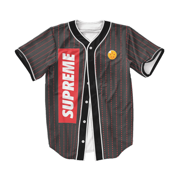 Dragon Ball Z Cute Launch Art Supreme Baseball Jersey