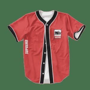 Dragon Ball Z Dream Team Supreme Red Baseball Jersey