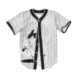 Dragon Ball Z Goku Art Cool Supreme Baseball Jersey