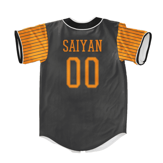 Dragon Ball Z Goku Friends Dope Orange Baseball Jersey
