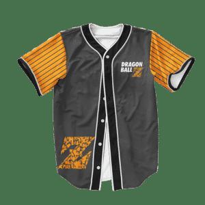 Dragon Ball Z Goku Friends Dope Orange Baseball Jersey