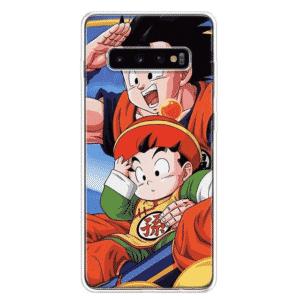 Dragon Ball Z Goku & Kid Gohan Samsung Galaxy S10 Case