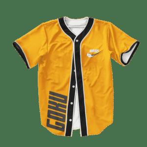 Dragon Ball Z Goku Nimbus Nike Inspired Basball Jersey