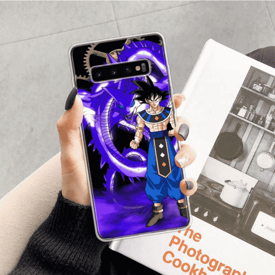 Dragon Ball Z Goku & Purple Dragon Samsung Galaxy S10 Case