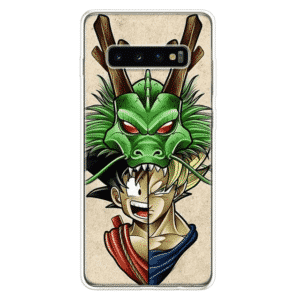 Dragon Ball Z Goku & Shenron Samsung Galaxy S10 Case