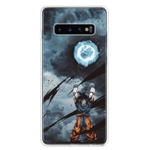 Dragon Ball Z Goku Spirit Bomb Samsung Galaxy S10 Case