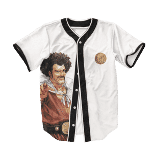 Dragon Ball Z Hercule Satan Funny Art Baseball Jersey