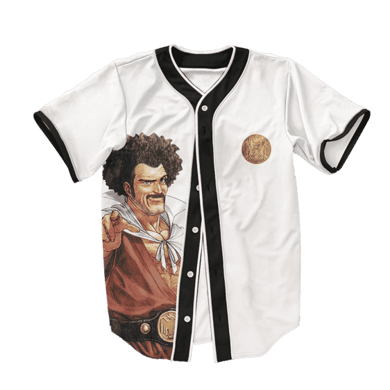 Dragon Ball Z Hercule Satan Funny Art Baseball Jersey